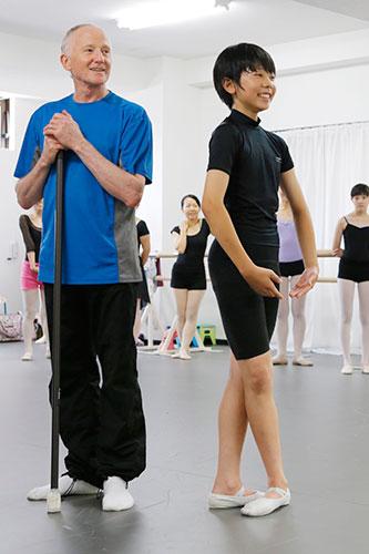 第1回 特別レッスン2013の様子「初級バレエ」