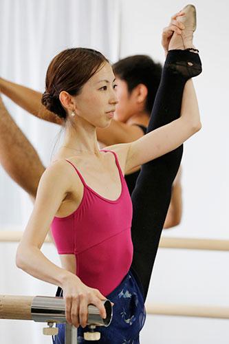 第1回 特別レッスン2013の様子「中・上級バレエ」
