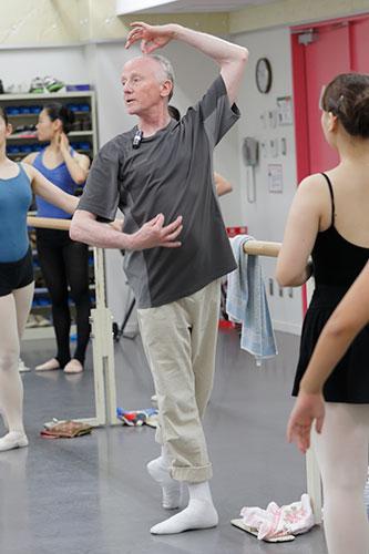 第2回 夏期講習会2014の様子「一般バレエ」
