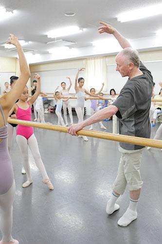 第2回 夏期講習会2014の様子「ジュニアバレエ」