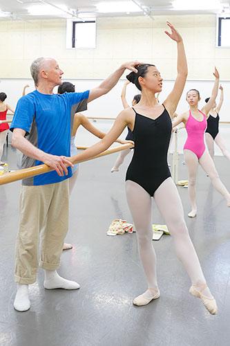 第3回 夏期講習会2015の様子「一般バレエ」